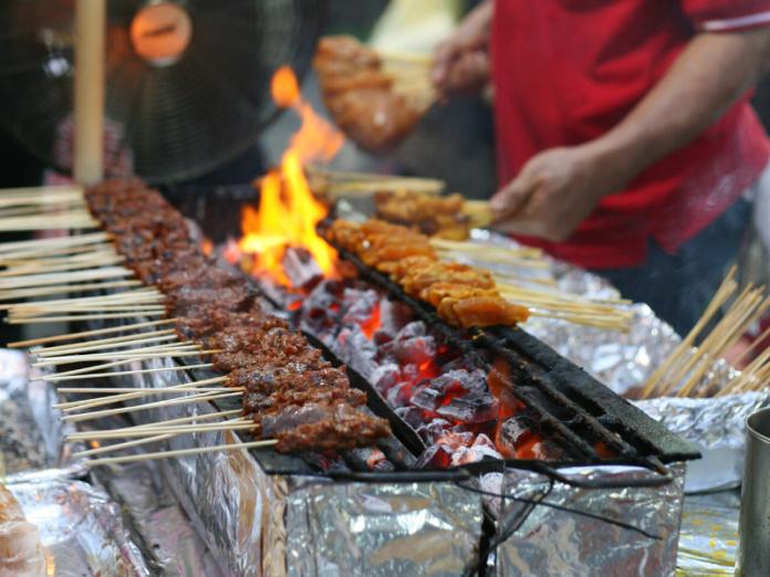 bahaya makanan dibakar