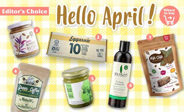Happily Happy April - Produk Sehat Pilhan Redaksi