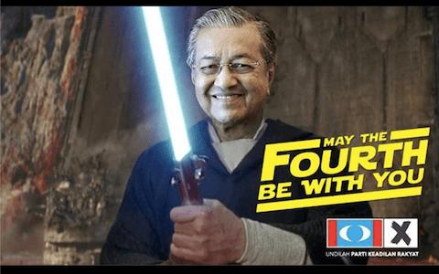 Cara Mahathir Muhammad Tetap Bugar di Usia 92 Tahun