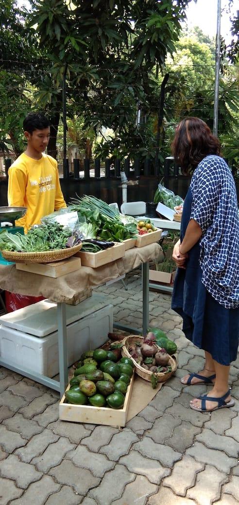 Pasar Langsat Jakarta: Pasarnya Artisan Produk Sehat Lokal