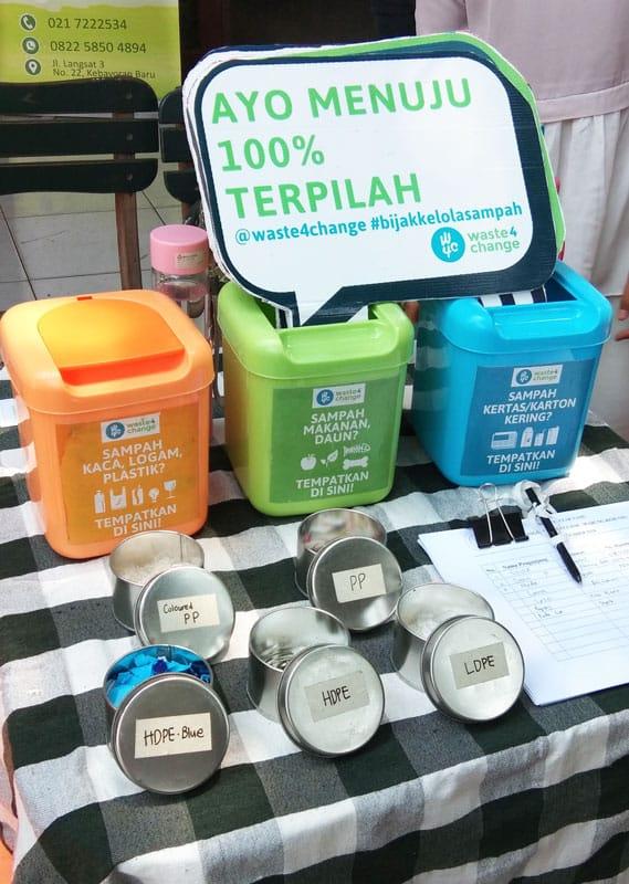 Sampah Daur Ulang Waste4Change