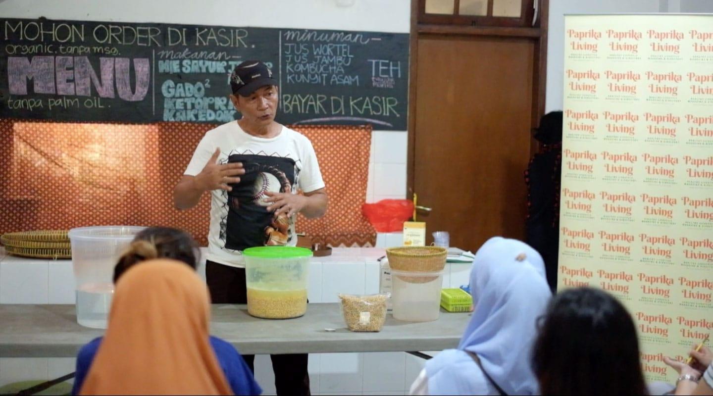 """Makan Tempe """"Mentah"""", Baik Untuk Otak Kedua ~ Workshop Tempe Agus Priyanto"""