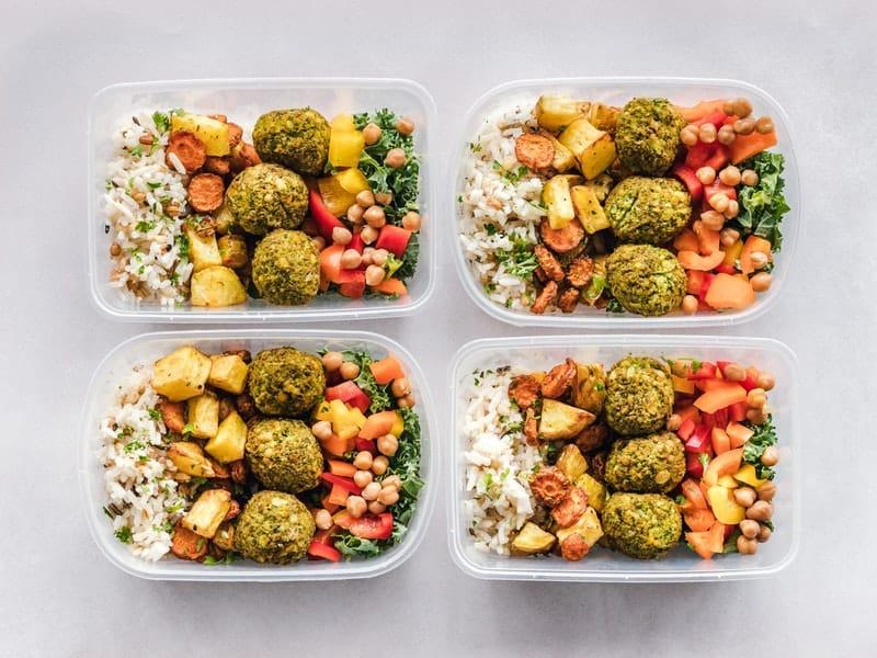 katering makanan sehat