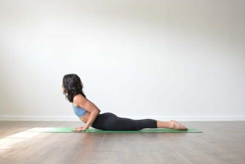 cobra pose untuk sehat