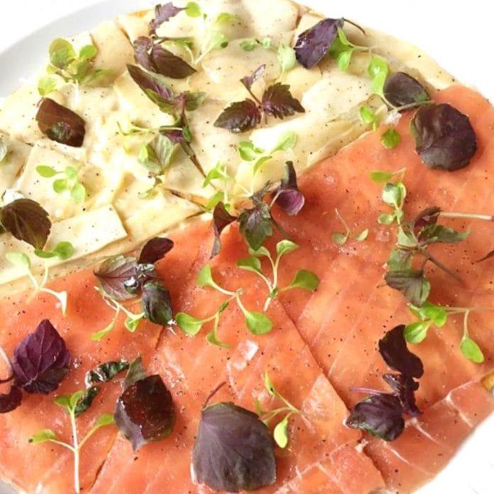Tuna Pizza & Eringi Pizza - Akira Back