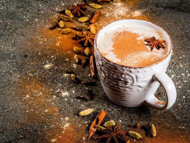 chai latte kapulaga