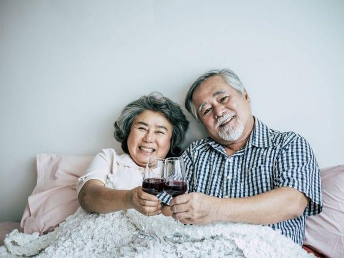 hidup sehat tua