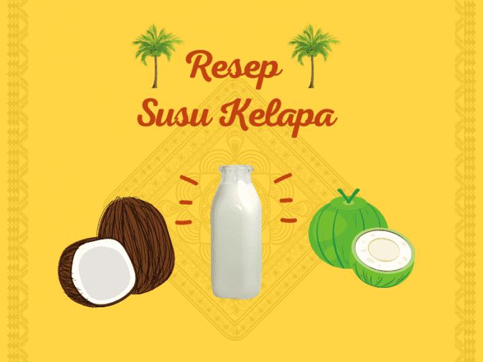 resep susu kelapa