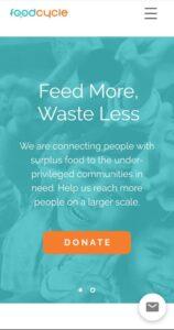 aplikasi Sampah makanan foodcycle
